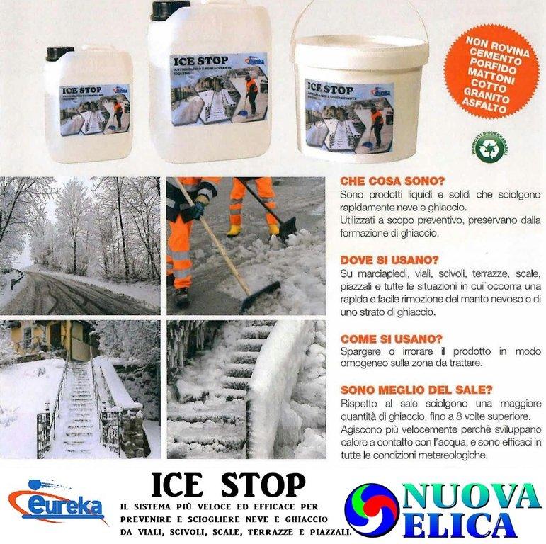 21cedd393bee Ice Stop Antighiaccio e Sghiacciante Liquido Eureka - NuovaElica