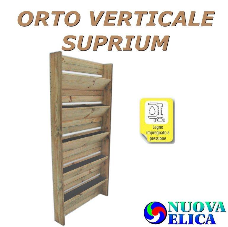 Orto Verticale Suprium 5 tasche cm15x80x180 - Emporio Nuova Elica