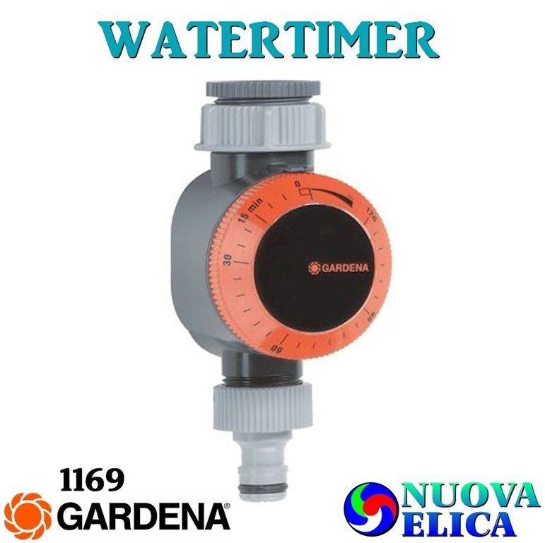 Watertimer gardena 1169 emporio nuova elica for Timer per innaffiare