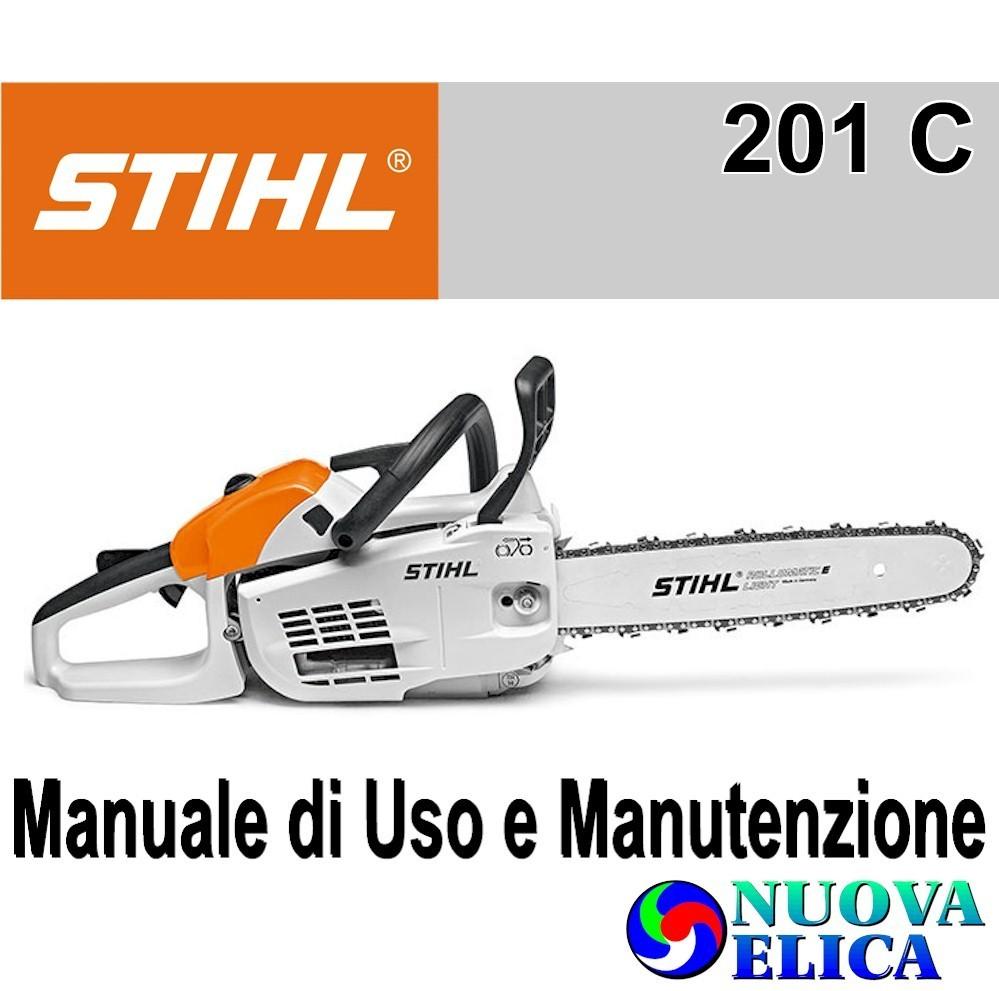 Manuale Utente Motosega Stihl MS 201 C-M - Emporio Nuova Elica 082f23206c3f