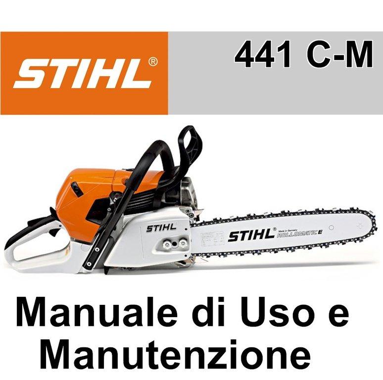 Manuale Utente Motosega Stihl MS 441 C-M - Emporio Nuova Elica 4c3171a2bfd1