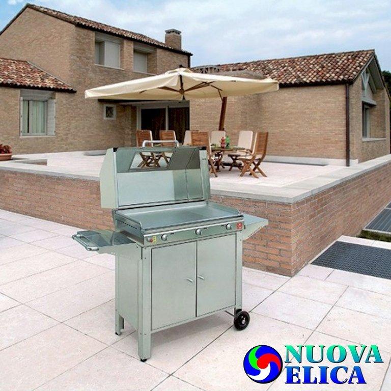 Barbecue con chef a domicilio emporio nuova elica - La casa del barbecue brescia ...