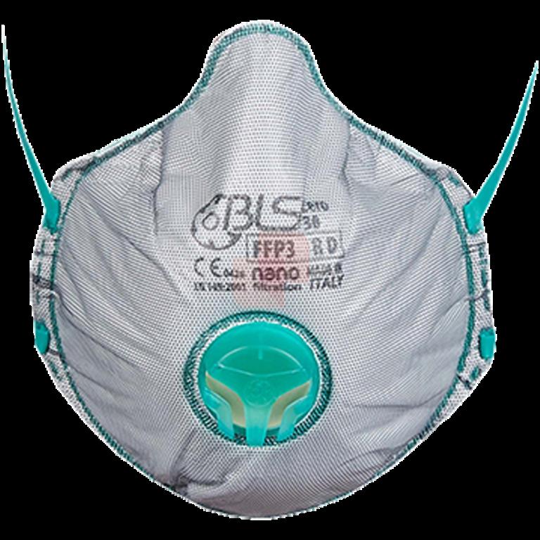 maschera facciale bls zero ffp3