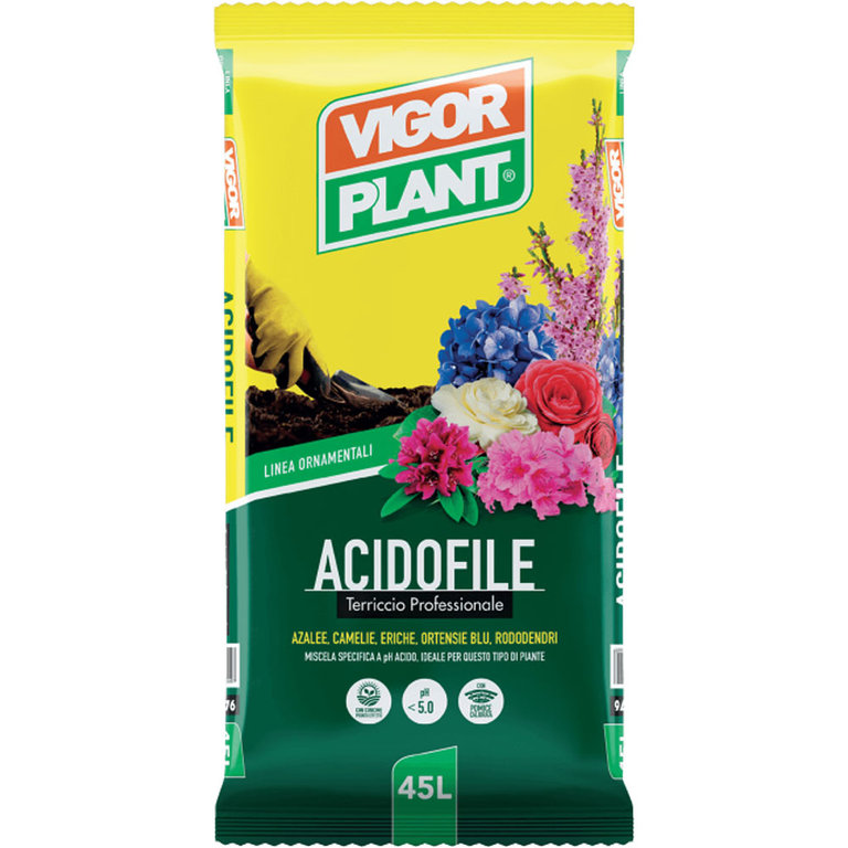 Vigorplant Terriccio Acidofile 45 L