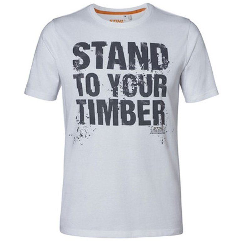 T-Shirt STAND TO YOUR TIMBER Stihl