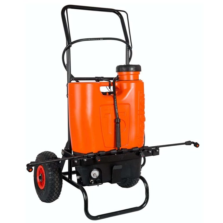 Irroratore a Batteria con Trolley 15 lt Stocker art 1247
