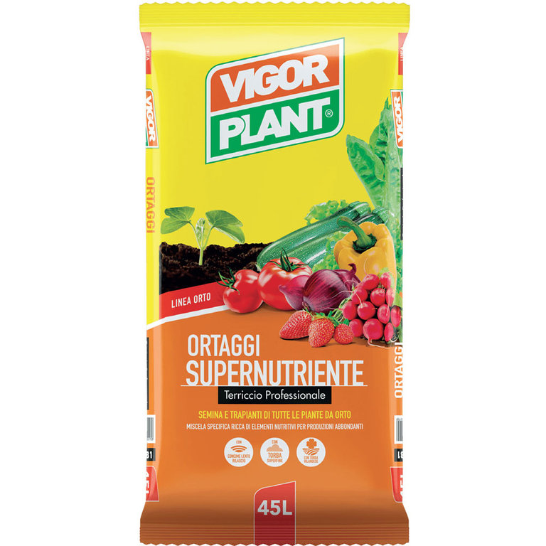 Vigorplant Terriccio Supernutriente 45 L