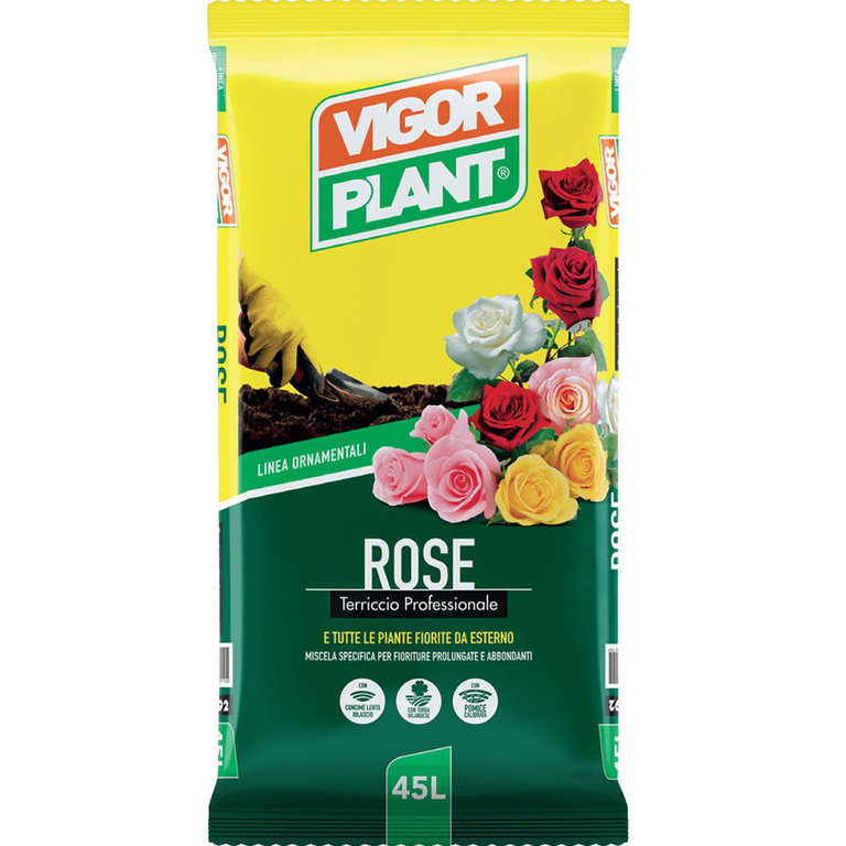 Vigorplant Terriccio per Rose 45 L